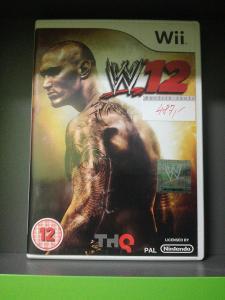 WWE SmackDown vs Raw 2012 /WWE 12/ (Wii) - kompletní, jako nová