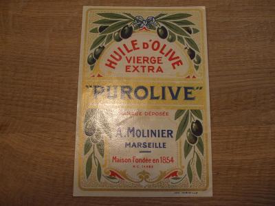 Etiketa  PUROLIVE  - od 1kč