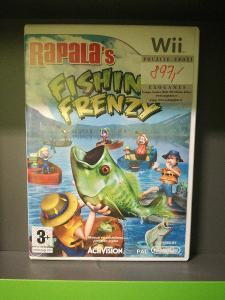 Rapalas Fishing Frenzy (Wii) - kompletní, jako nová