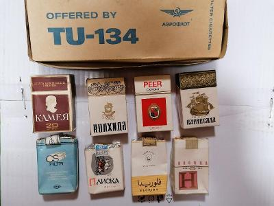 Krabičky od cigaret