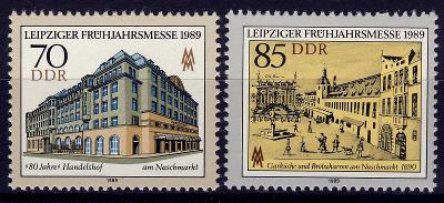 DDR 1989 **/ Mi. 3235-6 , komplet , /Z3/