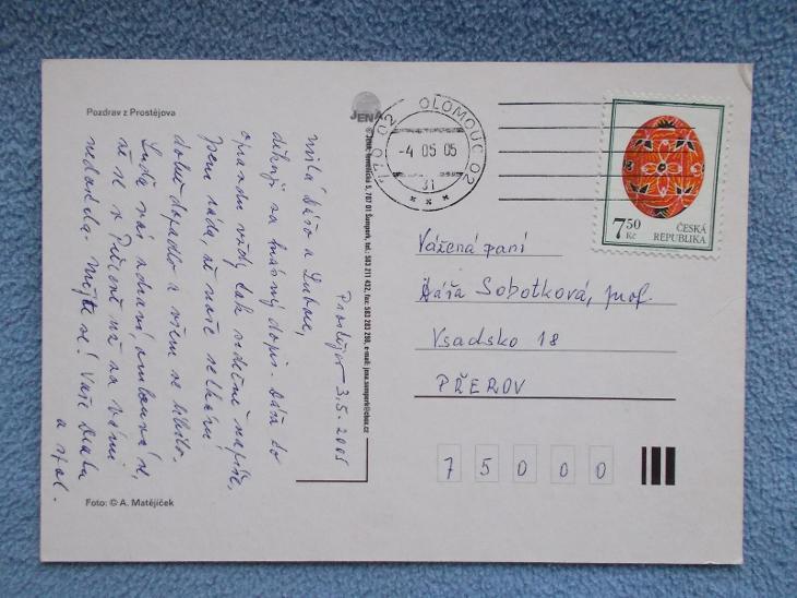 Prostějov pohlednice - Pohlednice