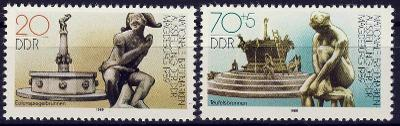 DDR 1989 **/ Mi. 3265-6 , komplet , /Z3/