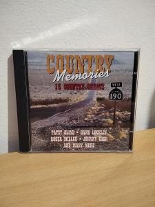 CD COUNTRY MEMORIES 10 COUNTRY GREATS