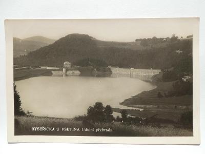 Bystřička, Valašské Meziříčí, Vsetín - Údolní přehrada