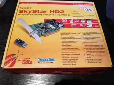 TechniSat SkyStar HD 2 + Smartmouse Phoenix Programátor 3,58 / 6 MHZ