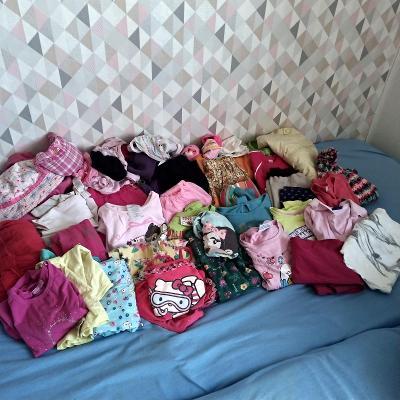 Sada holčičího oblečení od 4-8let, na donošení