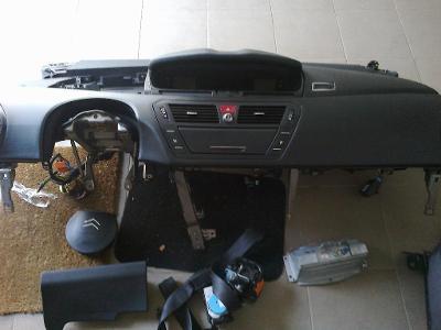 Airbagy Citroen C4 grand picasso - kompletní sada