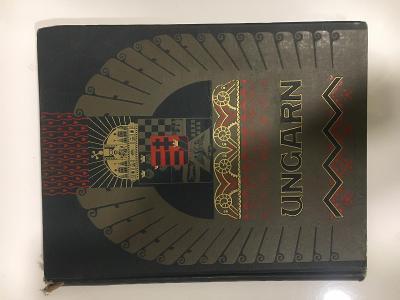 Vzácná kniha Hungary Budapest Barsony Royal State Railway Albert Kain