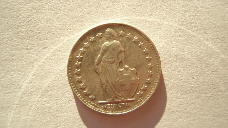 Švýcarsko 1/2 frank 1951 - Numismatika