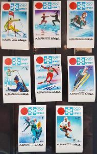 Ajman 1971 Olympijské hry Sapporo 72