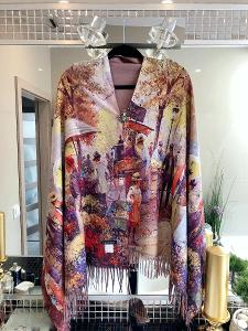Velká nová šála/šátek na jaro/podzim ( 50 % kašmir) Cashmere