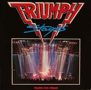 2LP Triumph (2) – Stages Label: MCA Records – 252 519-1 – top stav