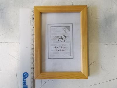 Nový  rám rámeček sklo na obraz foto nerozbaleno dřevo