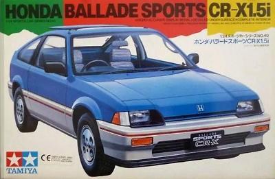 TAMIYA 24040 Auto Honda Ballade Sports CR-X 1.5i / 1 :24