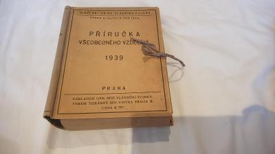 Služební knihy vladniho vojska 1939-Příručka všeobecného vzděláváni