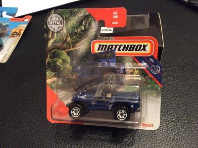 Jeep Willys / Matchbox