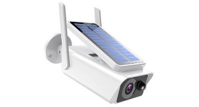 SOLÁRNÍ venkovní Wi-Fi IP kamera na baterie FullHD 1080P se záznamem n