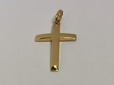 Zlacený přívěs Altesse kříž
