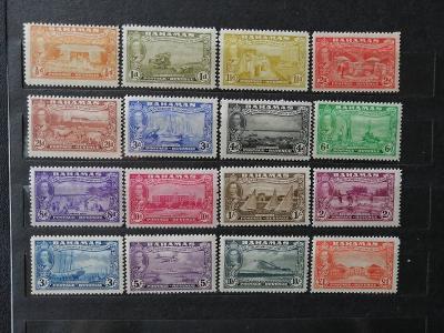 Bahamy 1948 - **/* top komplet,300 let osídlení ostrova Eleuthera 75£