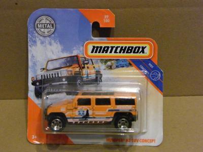 MATCHBOX - HUMMER H2 SUV CONCEPT