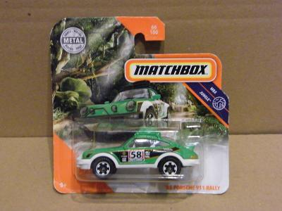 MATCHBOX  -  '85 PORSCHE 911 RALLY