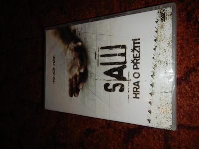 DVD SAW hra o přežití - Pila