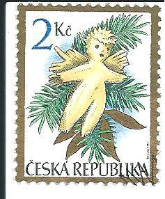 Vánoce 1994, raž. zn. sm. s raz. FDC, NL. k.č. 56.