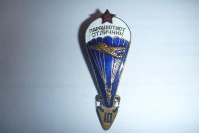 Ruský vojenský odznak výsadkář