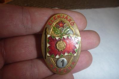 """Maďarský vojenský odznak třídnost """"1"""""""