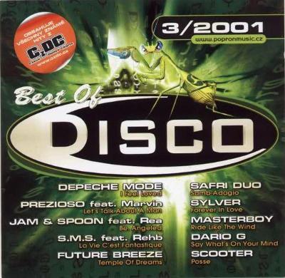 Best of Disco 3/2001 CD Album POPRON 54 502-2
