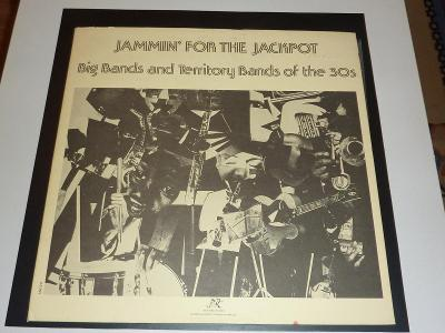 LP - BIG BANDS - JAMMIN FOR THE JACKPOT - NWR-USA - 1982 ---- H-439