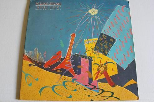 The Rolling Stones – Still Life (American Concert 1981)LP 1981 vinyl - Hudba