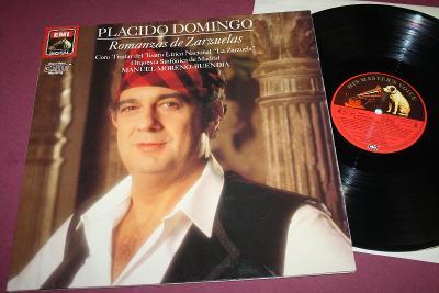 PLACIDO DOMINGO - Romanzas de Zarzuleas - výb.st. - EMI´88 - KRÁSA!