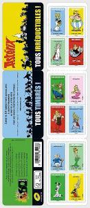 Francie 2019 Známky známkový sešitek ** Asterix komiks