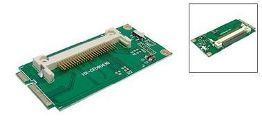 Nová redukce mini PCI-E na Compact Flash kartu CF pro mini PC a laptop