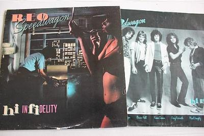 REO Speedwagon – Hi Infidelity LP 1980 vinyl NL 1.press super stav EX