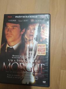 DVD Vraždy v ulici Morgue