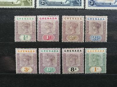 Grenada 1895 - kompletní definitiva královny Viktorie 110£