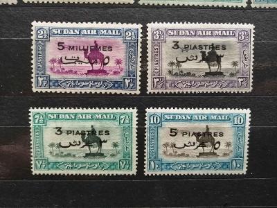 Britský Súdán 1938 - kompletní přetisky AIR MAIL 55£