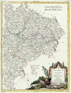 ZATTA Antonio: REGNO DI BOEMIA, mědiryt, Venezia 1779