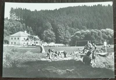 Jindřichův Hradec Staré Hobzí Pionyrský tábor Dyje