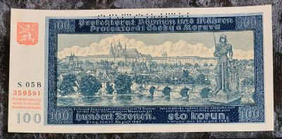 "100k 1940 ""S. 05B"" Specimen Unc"