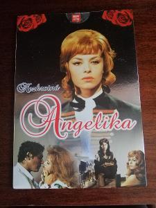 DVD - Nezkrotná Angelika, nerozdělané, papírový obal