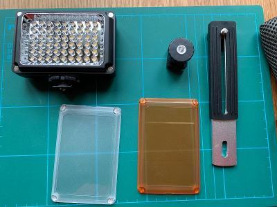 Video reflektor YN0906 LED světlo od fy. Yongnuo.