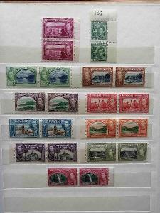 Trinidad & Tobago 1938 - komplet dupletů do 1$20 +140£