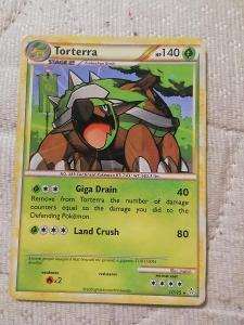 Torterra pokémon karta 2010