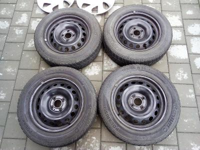 Zimní pneumatiky a kola - Barum Polaris 185/65 R15 (z Dacia Logan MCV)