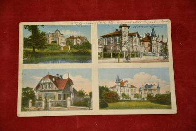 pohlednice Komotau - Chomutov  1919