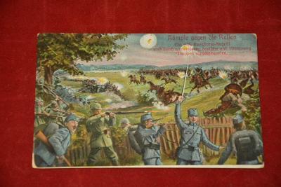 pohlednice na bojišti 1915